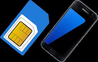 sim phone