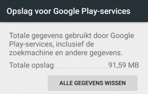 Google Play Services wissen