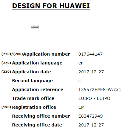 design for huawei