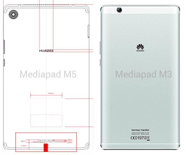 mediapad m3 m5