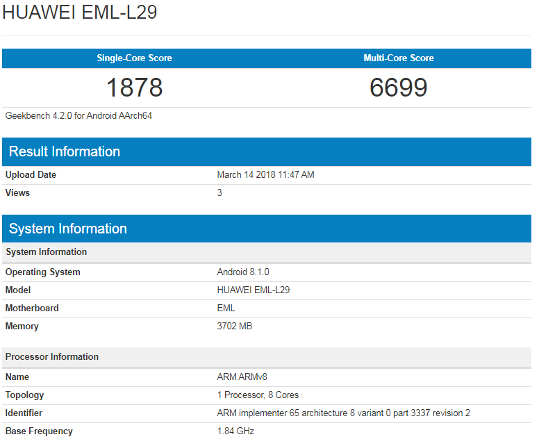 Huawei-EML-L29