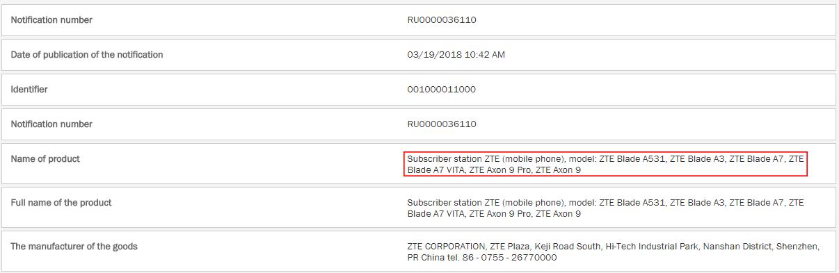 ZTE-AEA