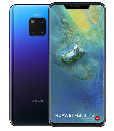 mate 20 pro front back