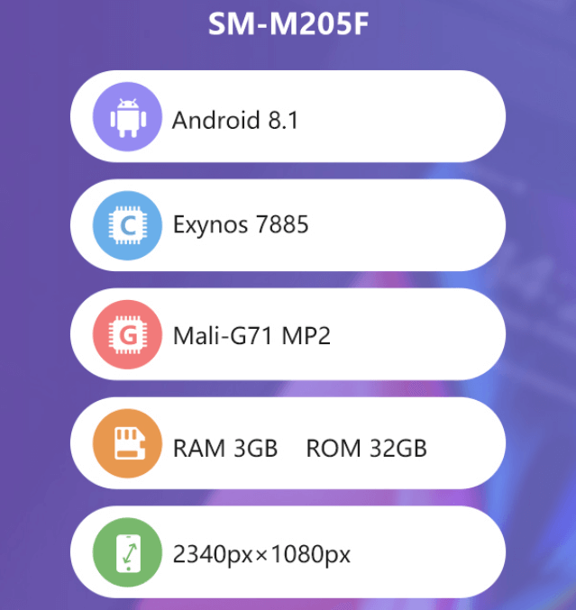 sm-M205F