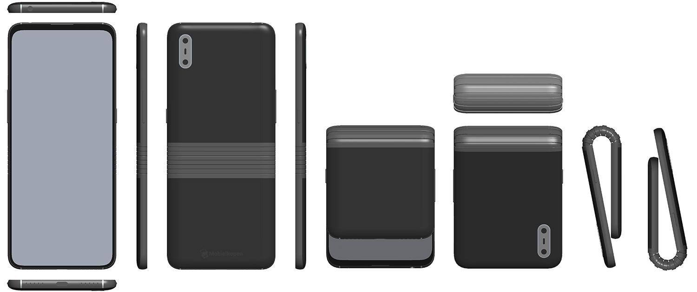 tcl opvouwbaar smartphone