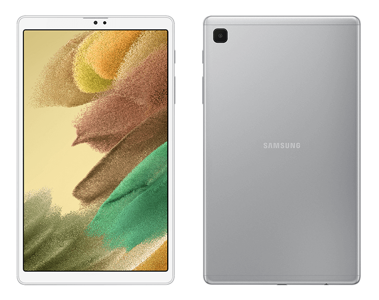 galaxy tab a7 lite front back
